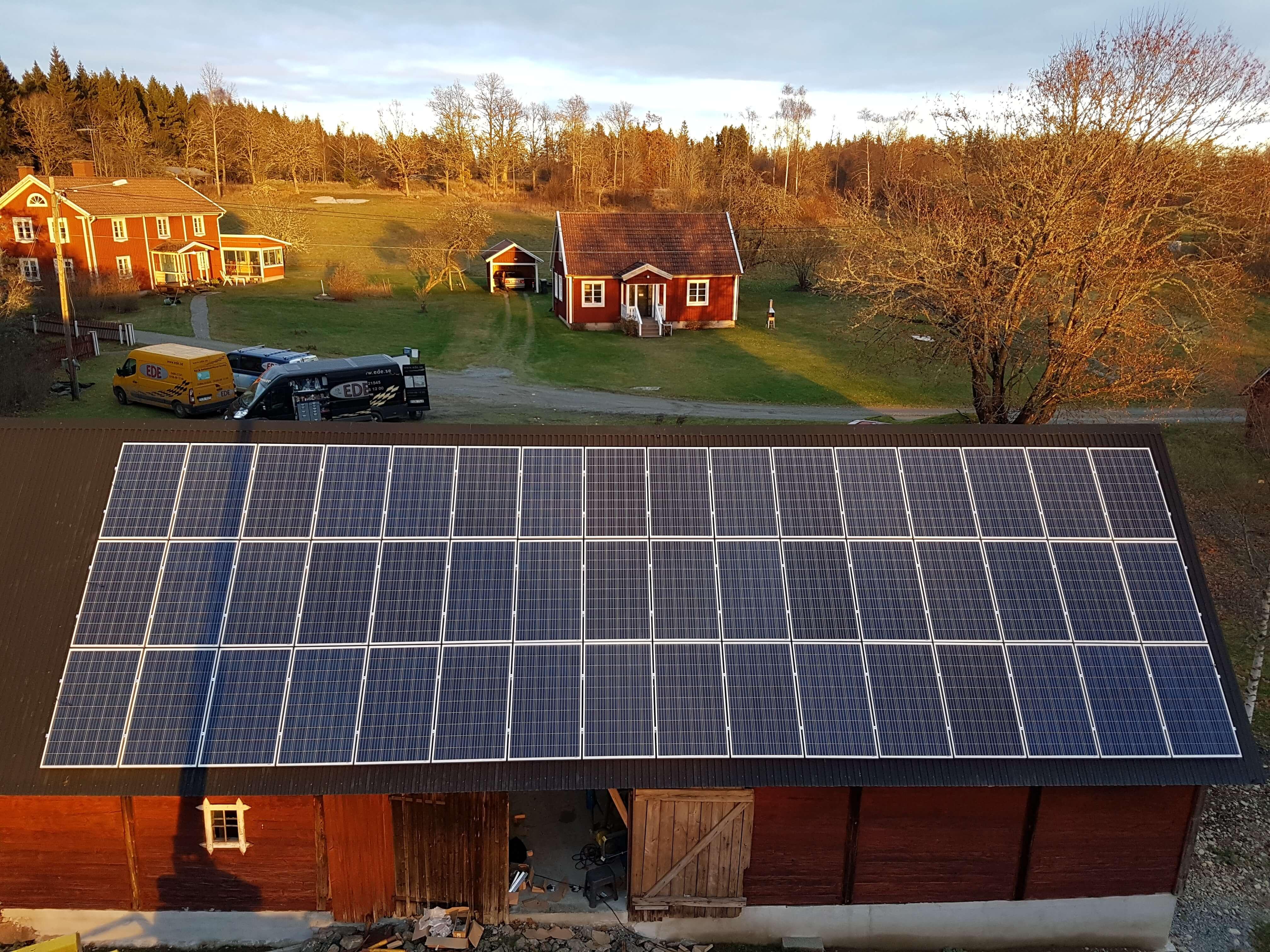 12,5 KW anläggning i Rörsbo Emmaboda
